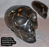 SOLD 12.4 Pound Rutilated Smokey Quartz Extraterrestrial Skull